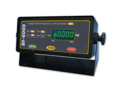 Indicador Display BI-6000